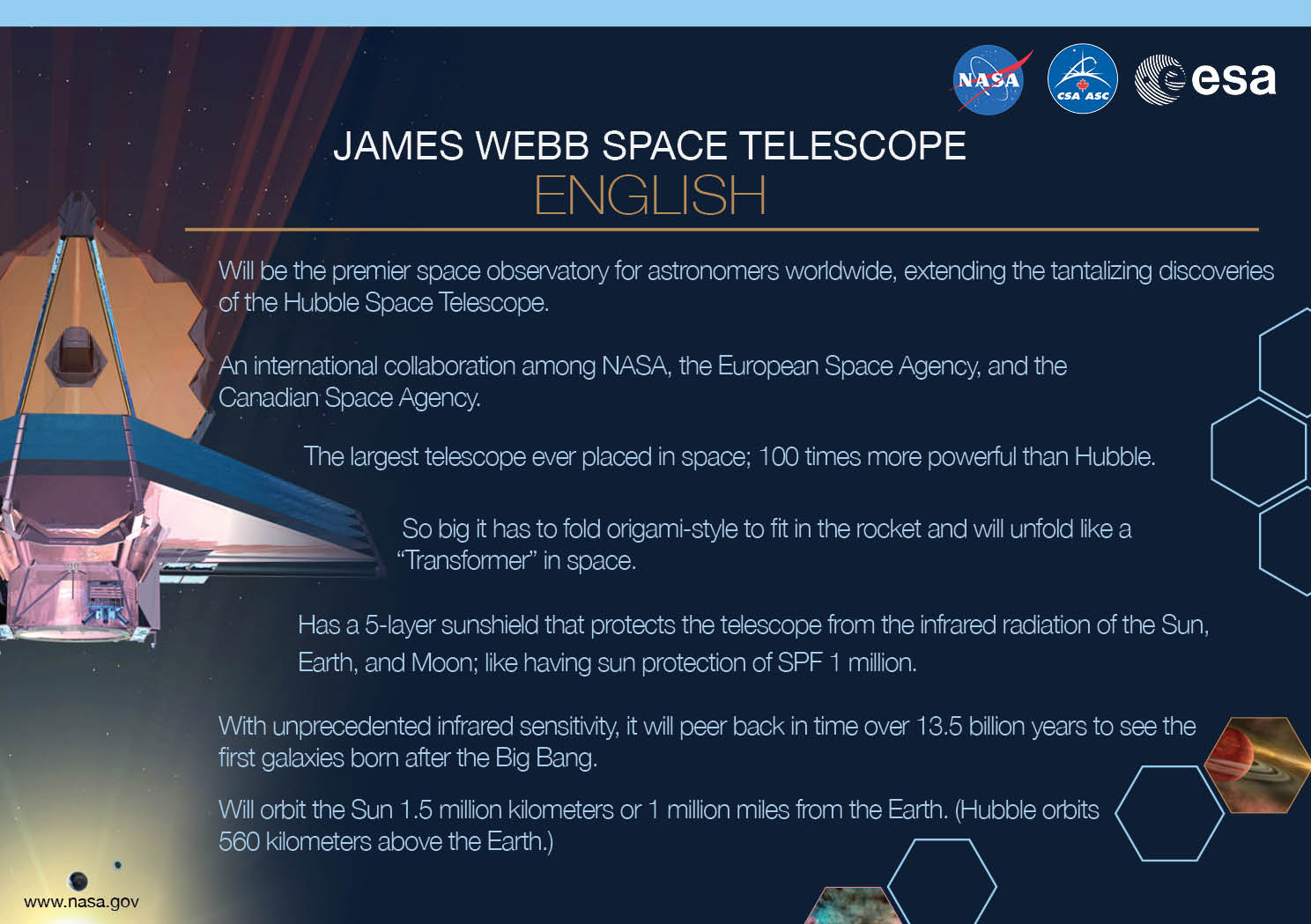 jwst key facts