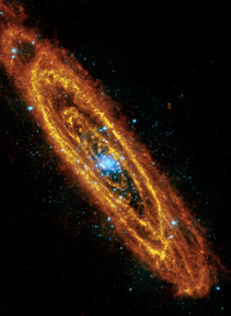 Herschel image of M31